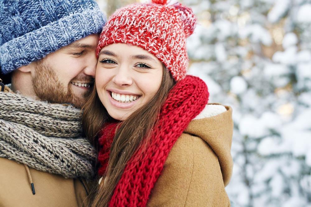 Холодное сердце: Пары на зимнем свидании