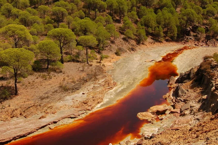 Самые удивительные и необычные реки мира