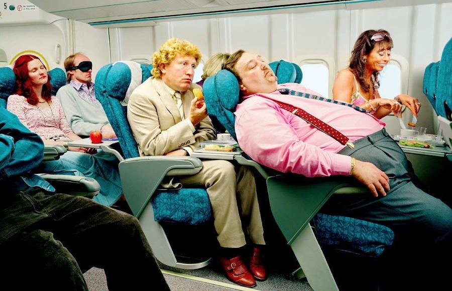 Курьезный случай в самолете, летящим на Колыму