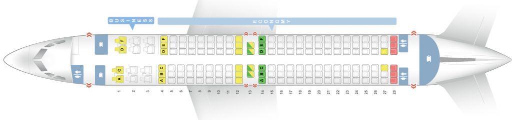 Схема мест в самолете боинг 737 800 фото 530