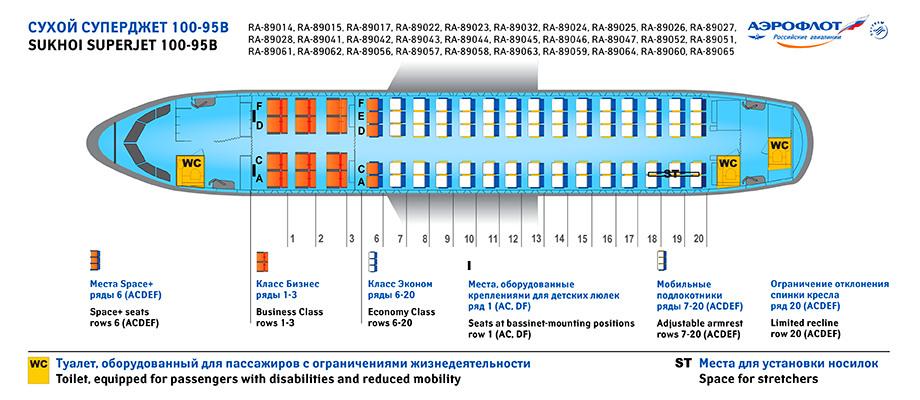 Сухой суперджет 100 90 схема салона фото 418