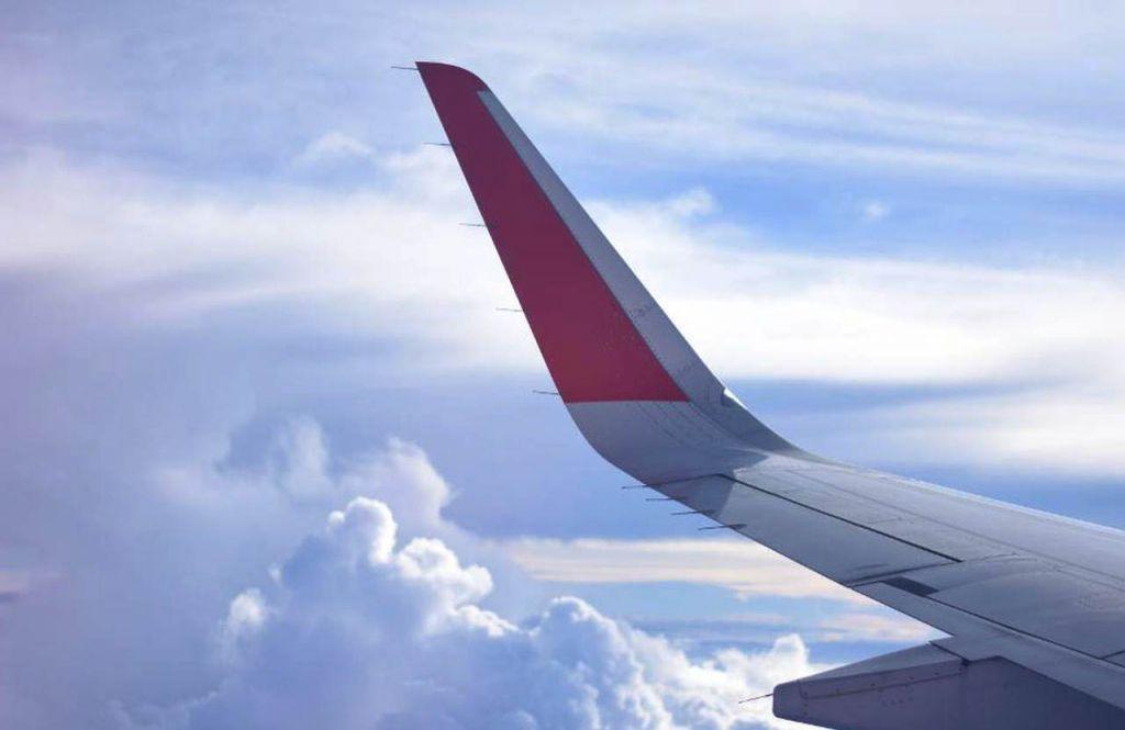 Фото самолета крыло