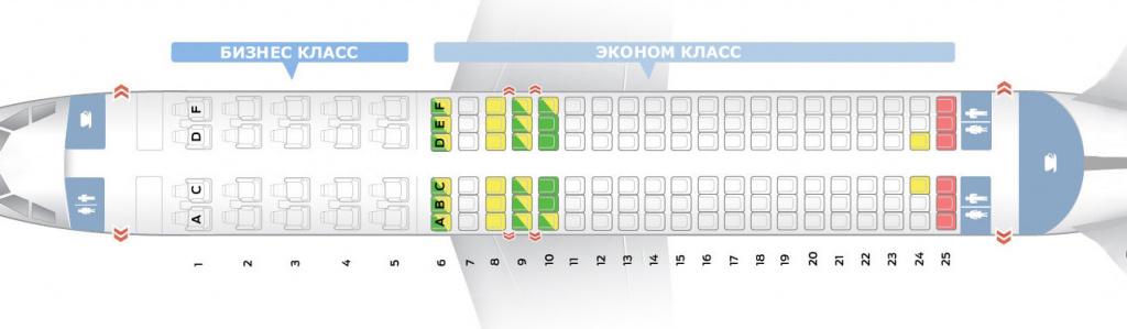 А320 100 200 схема салона аэрофлот   авиа-касса — билеты на самолеты.