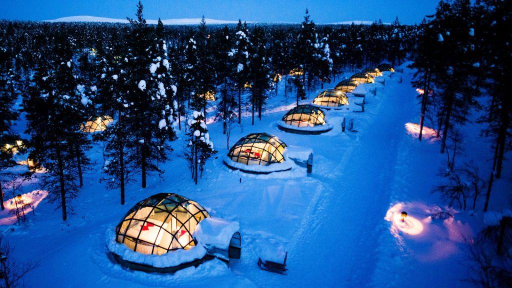 ✈ Самые удивительные и необычные отели мира