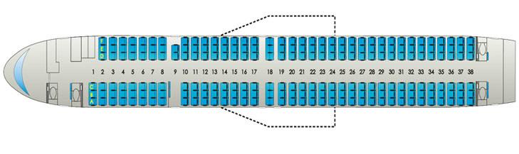 Самолет boeing 757-300. Фото, схема салона, отзывы, характеристики.