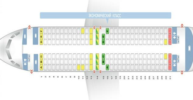 Схема мест в самолете боинг 737 800 фото 714