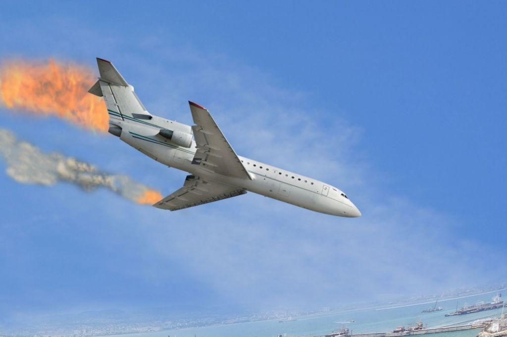 Падающий самолет картинки тундык