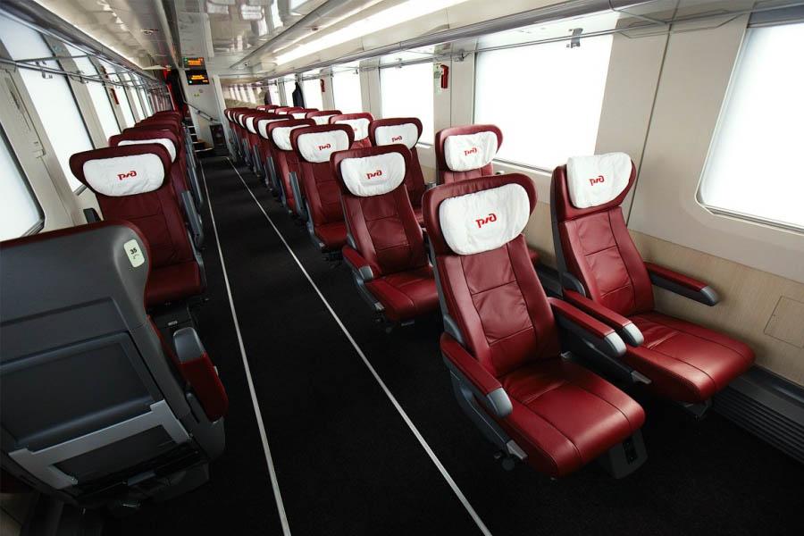 Сидячие вагоны фото ржд москва санкт петербург