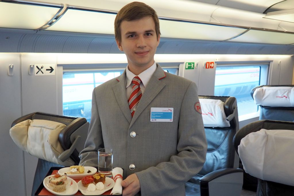 Заказ дополнительного питания в поезде