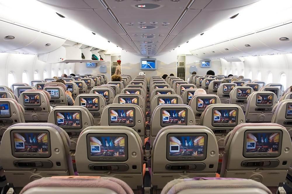 знаете самый большой самолет в мире фото салона как
